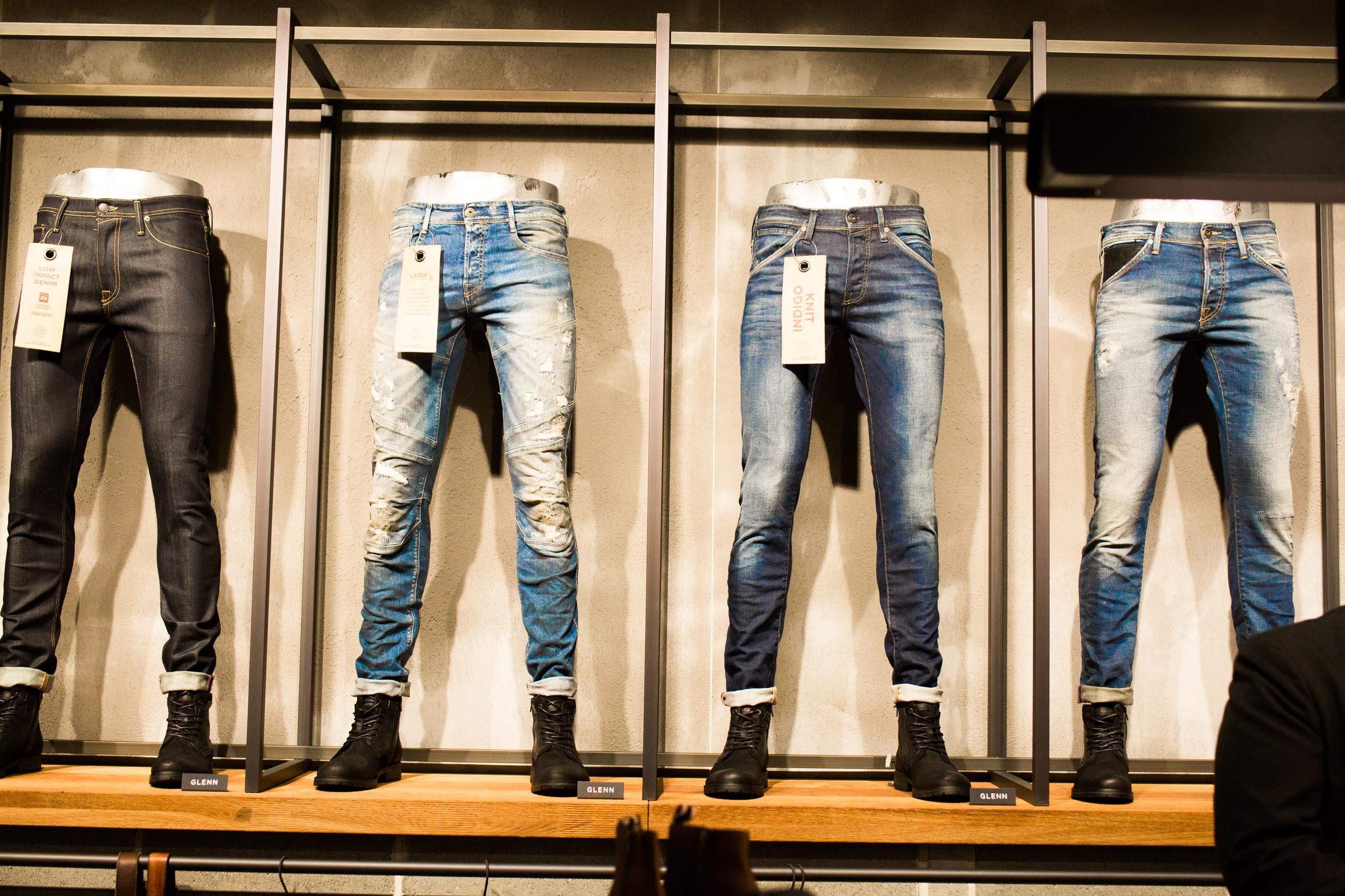 Jack & Jones Shoperöffnung Men Blog Denimlover customized, craft drinks , skinny jeans , hankge , outfit , fashion blog men