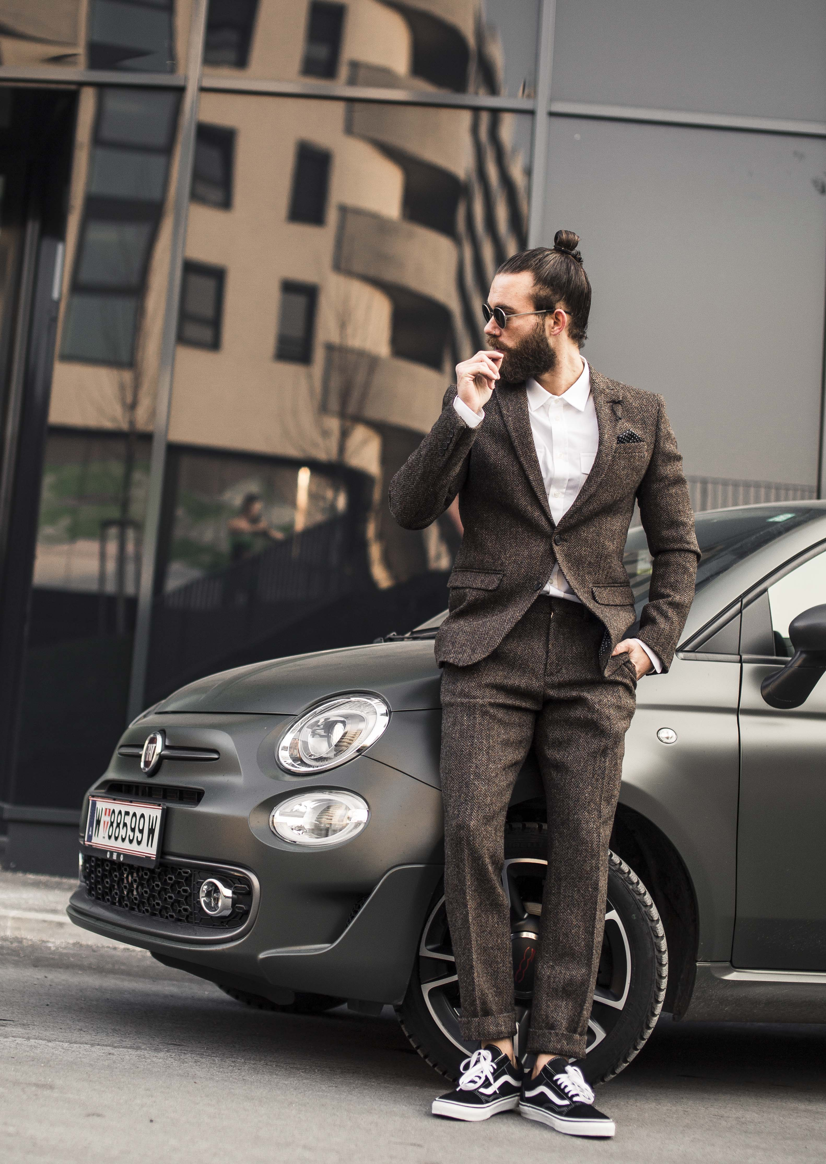 Hank ge , Fiat , Fiat 500s , Love at first drive , male blogger , Austrian blogger , fashion blog , Hank ge
